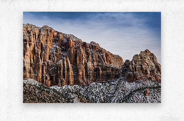 Zion National Park 3  Metal print
