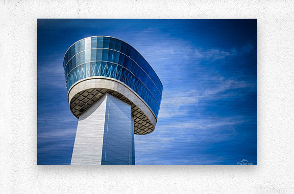 Airport Traffic Control Tower  Metal print