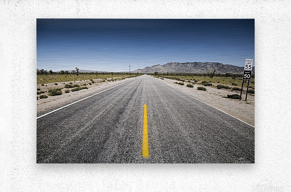 Arizona Road  Metal print
