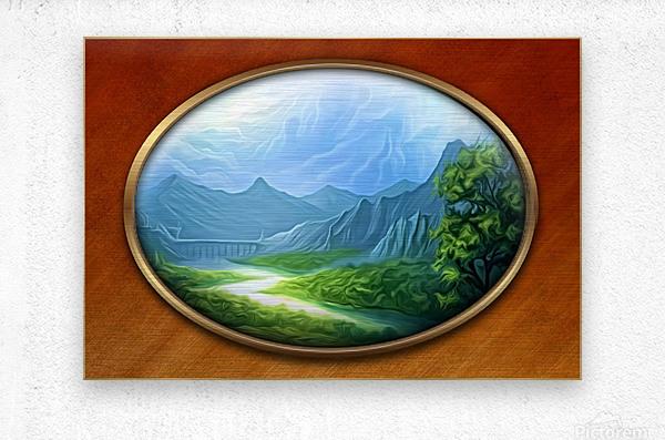 Landscape12  Metal print
