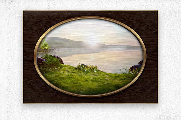 Landscape 13  Metal print