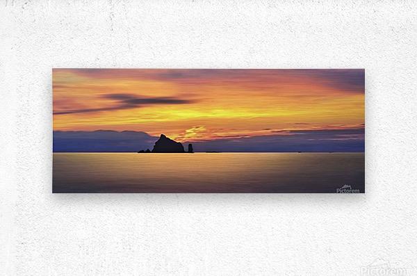 Olympic Sunset 2  Metal print