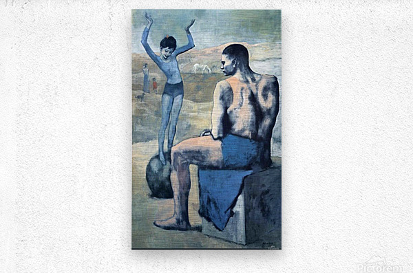 Pablo Picasso. Girl on the Ball HD 300ppi  Metal print