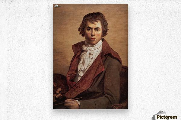 David Self Portrait  Metal print