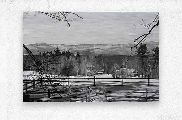 White Mountains - New Hampshire  Metal print