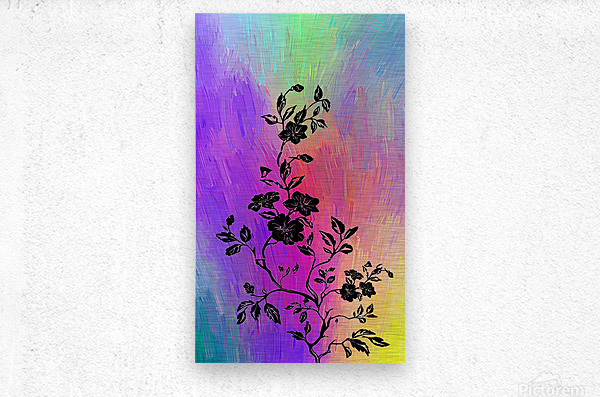 Modern interior design 14  Metal print