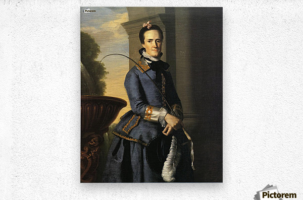 Mrs Epes Sargent 1764  Metal print