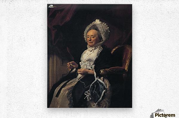 Mrs Seymour Fort  Metal print