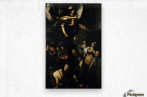 The Seven Works of Mercy  Metal print