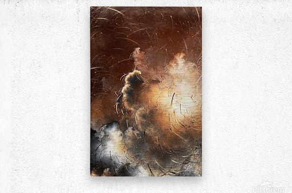 Dark Skies of the Soul  Metal print