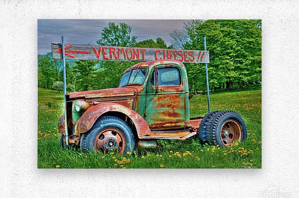 Cheese Truck Spring  621  Metal print
