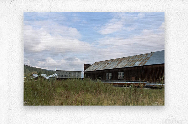 Dawson City, YT   19  Metal print