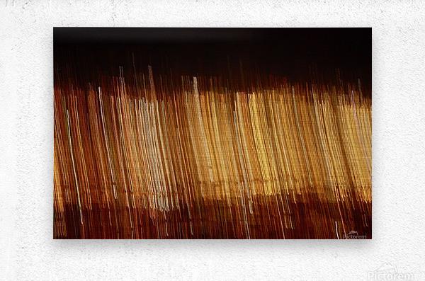 Blurred City  Metal print