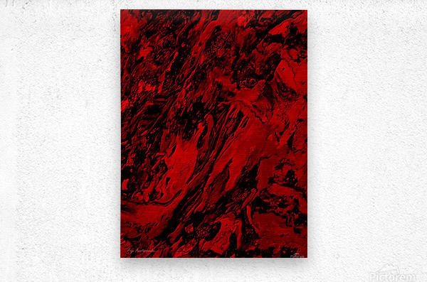 Deformation  Metal print