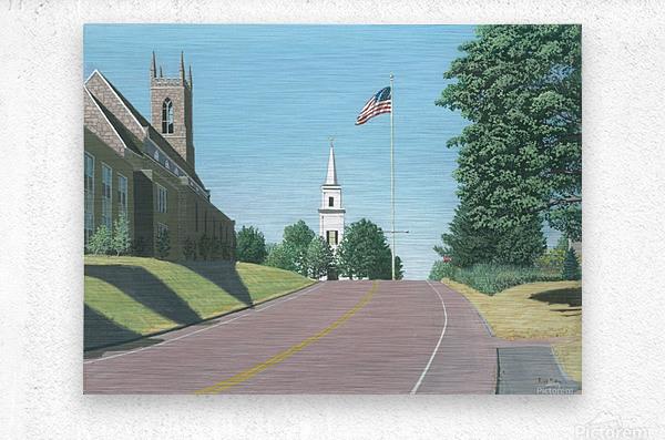 Church Hill Road - Newtown Scenes 16X20  Metal print