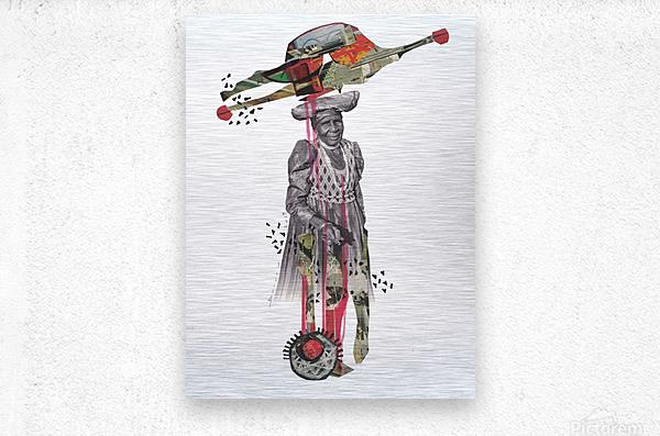 Herero Woman 8  Metal print