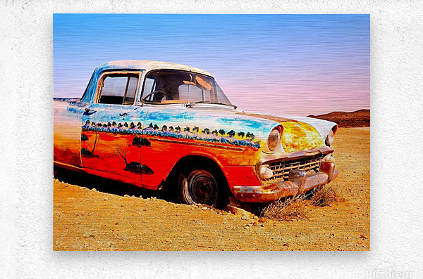 Quirky Sights of the Outback 4  Metal print