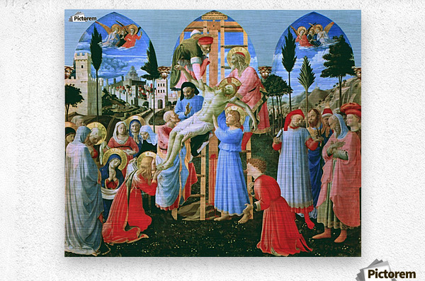 The Deposition from the Cross  Metal print