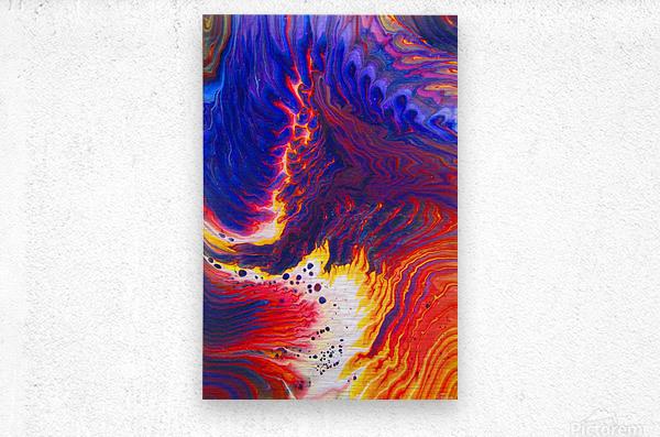 Kindle Your Inner Flame  Metal print