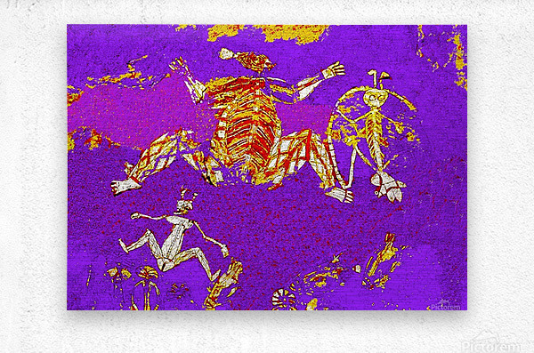 Pop Art - Rock Art 5  Metal print