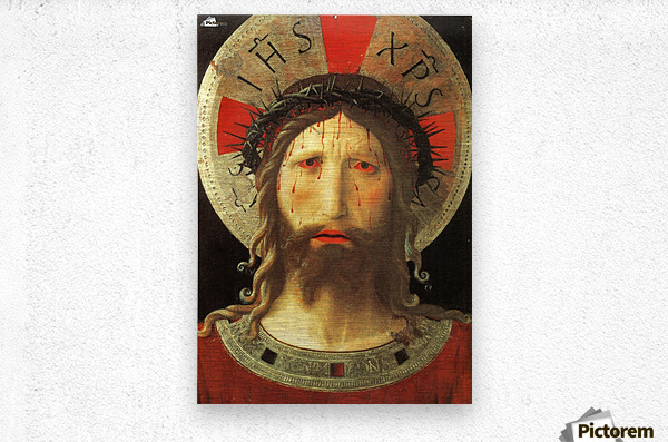 The Color of Christ Passion  Metal print