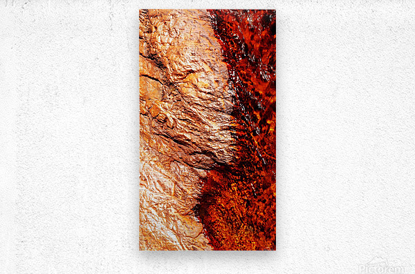 Australia Rocks - Abstract 28  Metal print