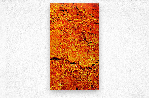Australia Rocks - Abstract 31  Metal print