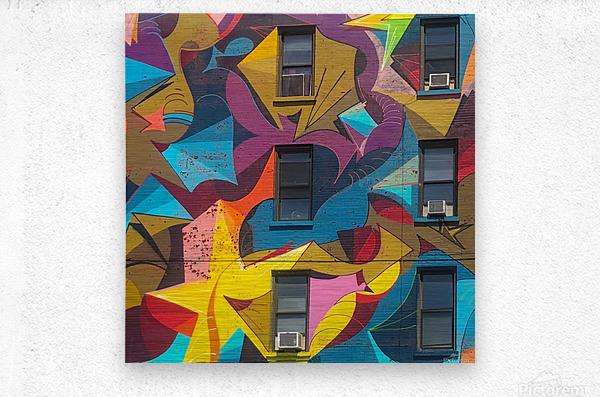 New_York_  Metal print