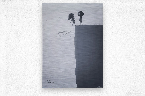 Charbel Elia  Metal print