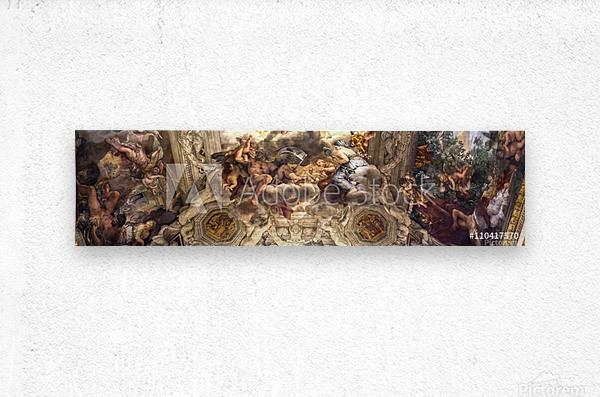Renaissance ARTS  Metal print