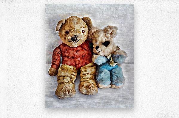 Give Me A Bear Hug  Metal print