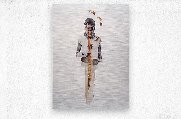 amazing grace1  Metal print