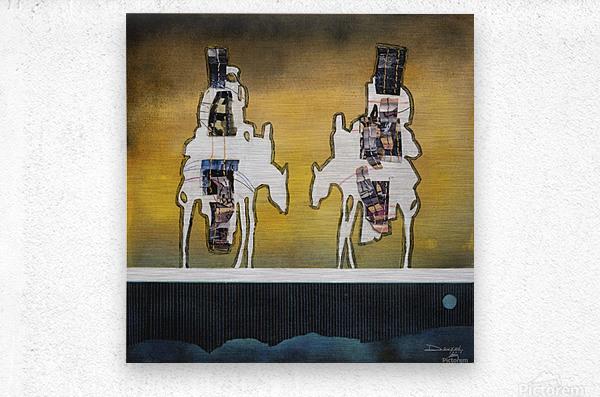 Donkey talk  Impression metal