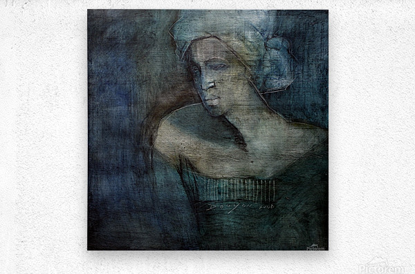 Woman of all trades  Metal print