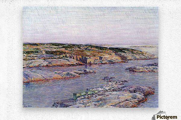 Summer afternoon, the Isles of Shoals by Hassam  Metal print