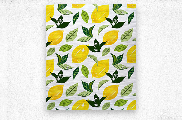 Lemona  Metal print