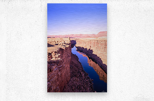 Marble Canyon  Metal print