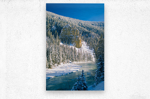 23 Below  Metal print