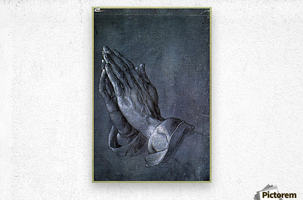 Hands of an Apostle  Metal print