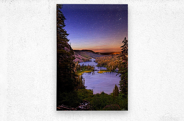 Twin Magic  Metal print