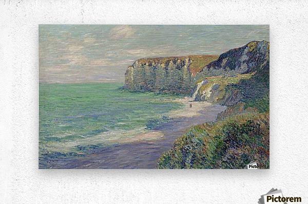 The Cliffs of Saint-Jouin  Metal print