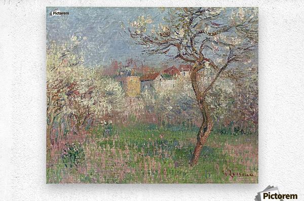 Spring, Outskirts of Pontoise  Metal print