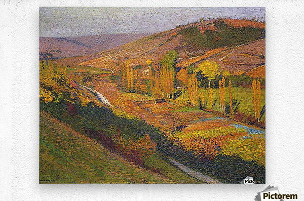 Labastide-du-Vert, Valley of Lot  Metal print