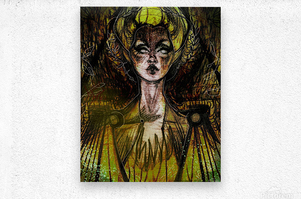LA REVANCHE | 1  Metal print
