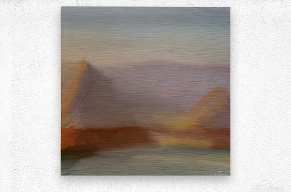 Monet I spiration  Metal print