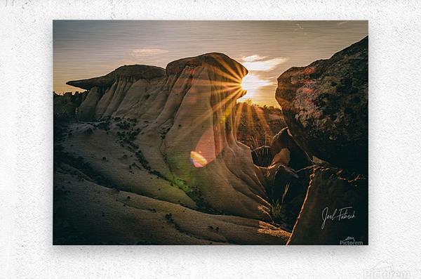 DPP Hoodoo Sunburst  Metal print