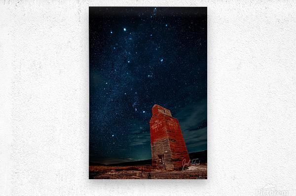 Dorothy Elevator Milky Way  Metal print