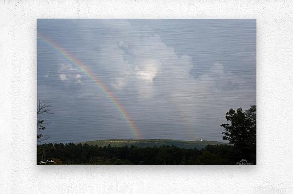 Rainbow Ridge  Metal print