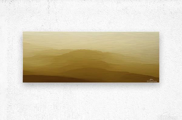 Mountainous Landscape 6  Metal print