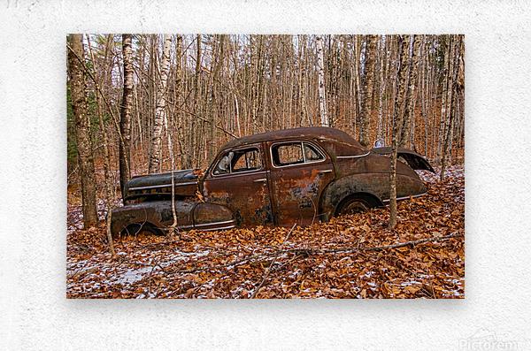 Chevrolet Fleetline 4  Metal print